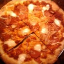 Wood Oven Thin Crust Pizza at Tennessy Willems