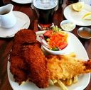 Fish and Chips at The Glen Scottish Restaurant