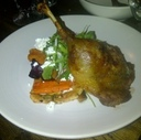 Duck Confit at Back Lane Café