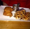 Chicken and Waffles at Brothers Beer Bistro