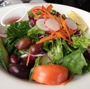 Salad at Von's Bistro