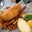 Fish and Chips at Boucanerie Chelsea Le Resto