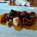 Scallops at Pelican Grill