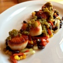 Scallops at The Wellington Gastropub