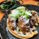 Chicken and Waffles at The SmoQue Shack