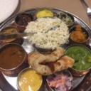 Thali at Coconut Lagoon