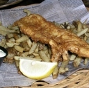 Fish and Chips at Barley Mow