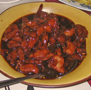 General Tso's Chicken at Ging Sing