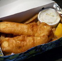 Fish and Chips at Merivale Fish Market & Seafood Grill