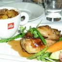 Main Course at Perspectives Restaurant at Brookstreet Hotel