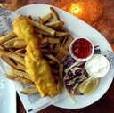 Fish and Chips at Pelican Grill