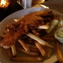 Fish and Chips at Cheshire Cat