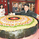 Jackie Chan's sushi restaurant