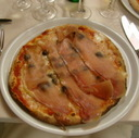 Pizza made in Italy.